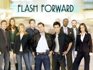 Foto con los actores principales de la serie Flash Forword