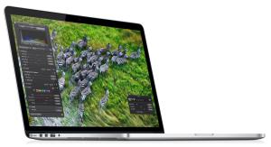 Imagen del nuevo Macbook Pro con pantalla Retina