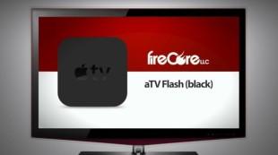 Imagen de la aplicación ATV Flash Black, de la empresa Firecore, para hacerle jailbreak al Apple TV