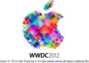 Cartel oficial de la WWDC 2012