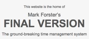 Imagen de la página web de Mark Forster y su sistema Autofocus