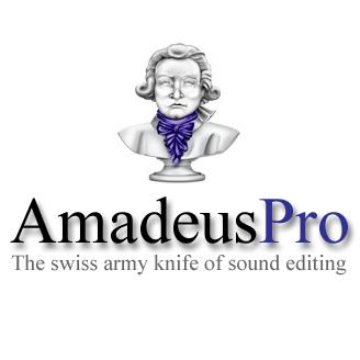 Logo del programa de edición de audio Amadeus Pro