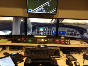 Puesto de pilotaje virtual