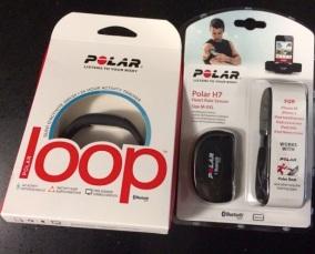 La pulsera Polar Loop en su caja