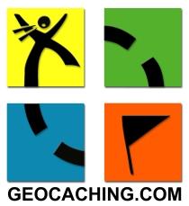 Logo del site geocaching.com